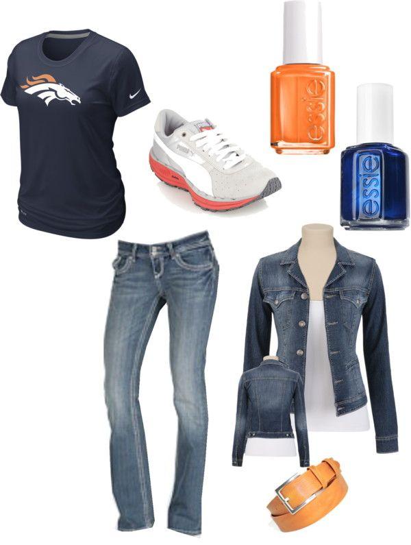 """""""Denver Broncos!"""" by chargirl on Polyvore"""