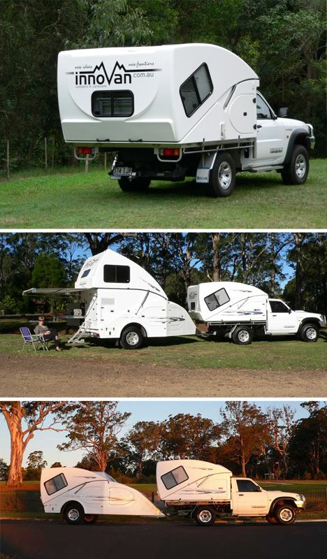 Innovan: (Almost) Impossibly Compact Mobile Campers