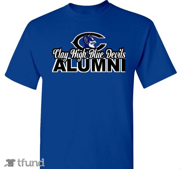 e64d282e1f1f Check out Clay High School Alumni T-Shirt fundraiser t-shirt. Buy one    share it to help support the campaign!