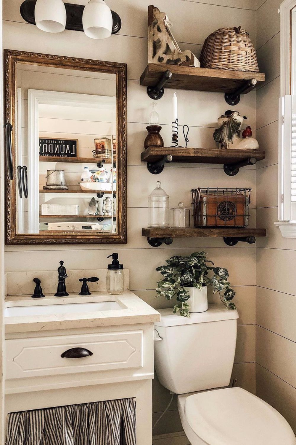 Guest Bathroom Ideas That Are Easy To Do Swankyden Com 2020 In 2020 Guest Bathrooms Large Bathroom Rugs Affordable Home Decor
