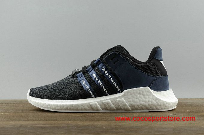 best sneakers 5c505 56b5b Adidas EQT SUPPORT 9317 Womens Boost BB3127 Black Dark-blue Running Shoes  90