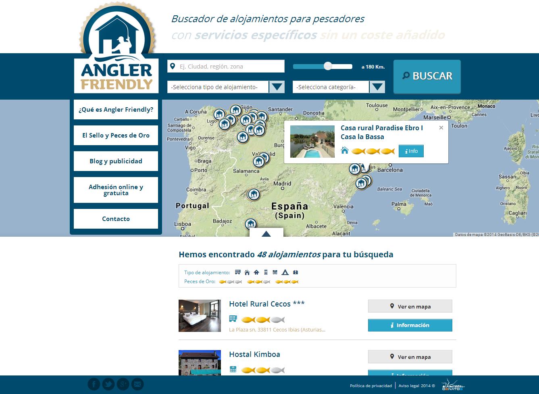 www.anglerfriendly.com ¡Ya son más de 70 los #Establecimientos #Amigos del #Pescador adheridos al #Sello de #Calidad #AnglerFriendly. Se va llenando el #mapa Angler Friendly !!! Tu #Buscador de #Alojamientos www.anglerfriendly.com | Síguenos también en www.twitter.com/AnglerFriendly y en O2NATOS