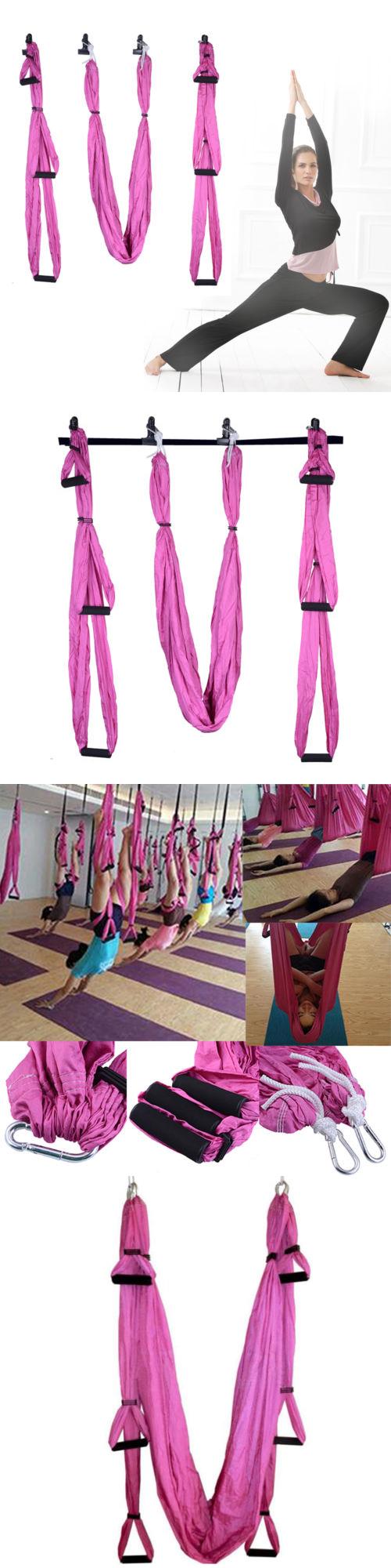 Yoga props large bearing yoga swing sling hammock trapeze