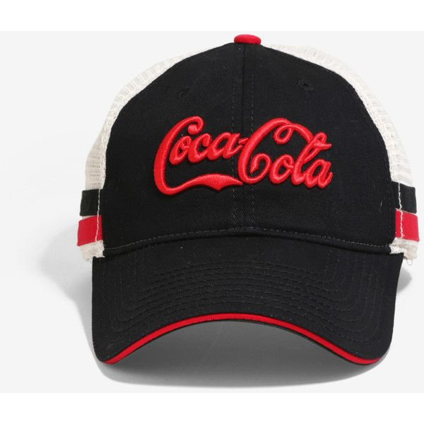 9c4a488b12c American Needle Coca-Cola Trucker Hat (52 RON) ❤ liked on Polyvore  featuring accessories