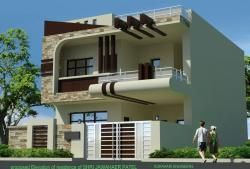Elevacao dianteira de  lote para construcao house front design modern also best projects to try images homes rh pinterest