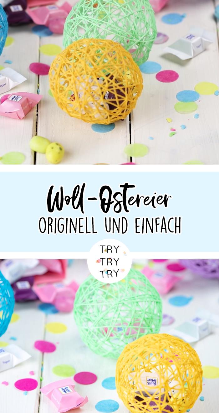 Woll-Ostereier