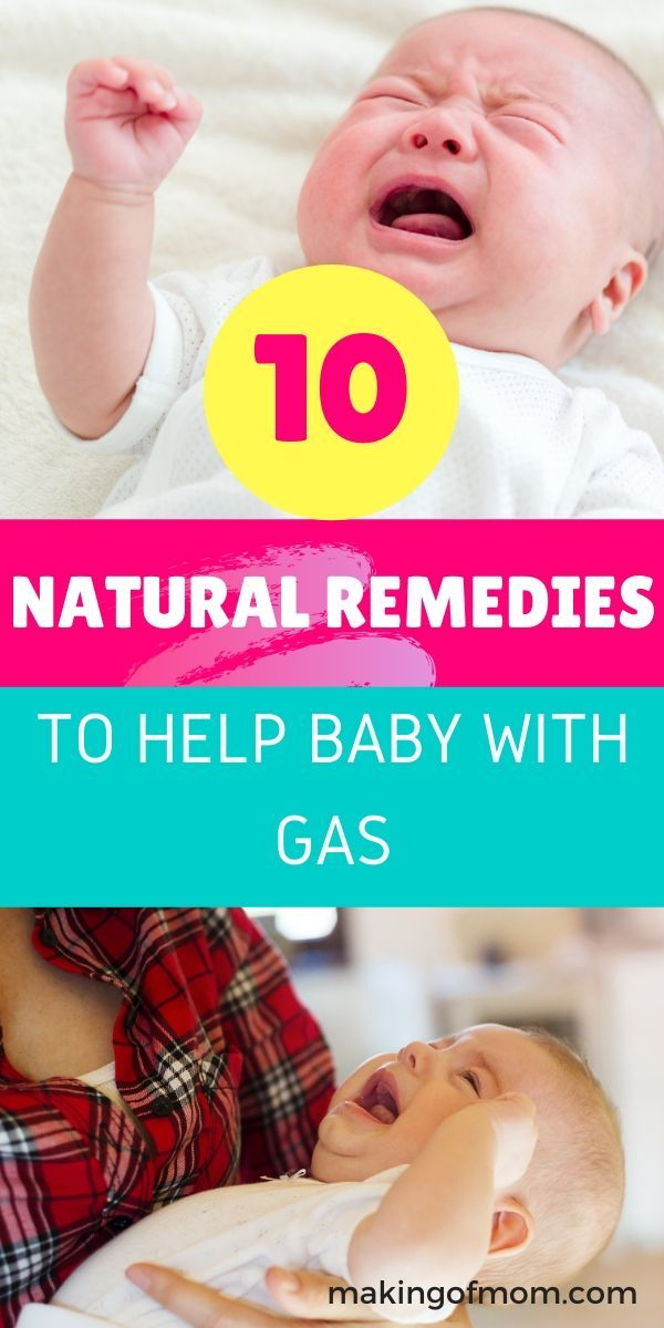 10 Natural Remedies for Baby Gas - Newborn Care