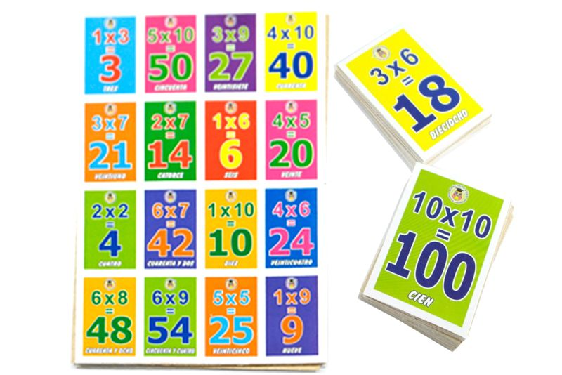 Juegos Educativos Loteria Summer Math Math Games
