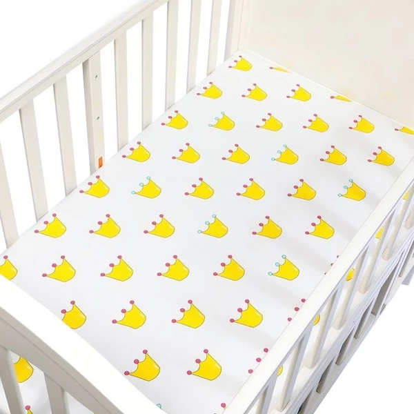 A Unique Crib Sheet For A One Of A Kind Nursery 100 Cotton Fitted Sheet For Baby Crib Measures About 130x70x22cm Baby Crib Sheets Baby Cribs Baby Sheets