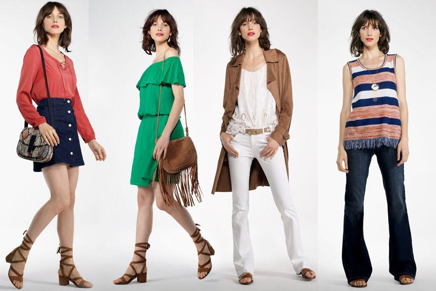 Nowoczesna Interpretacja Lat 70 W Nowym Lookbooku Camaieu Fashion Women S Top Long Sleeve Blouse