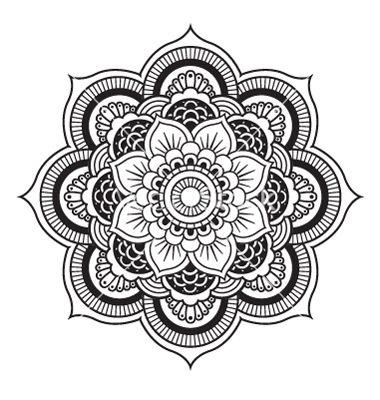mandalas budistas blanco y negro - Buscar con Google   Dibujos ...