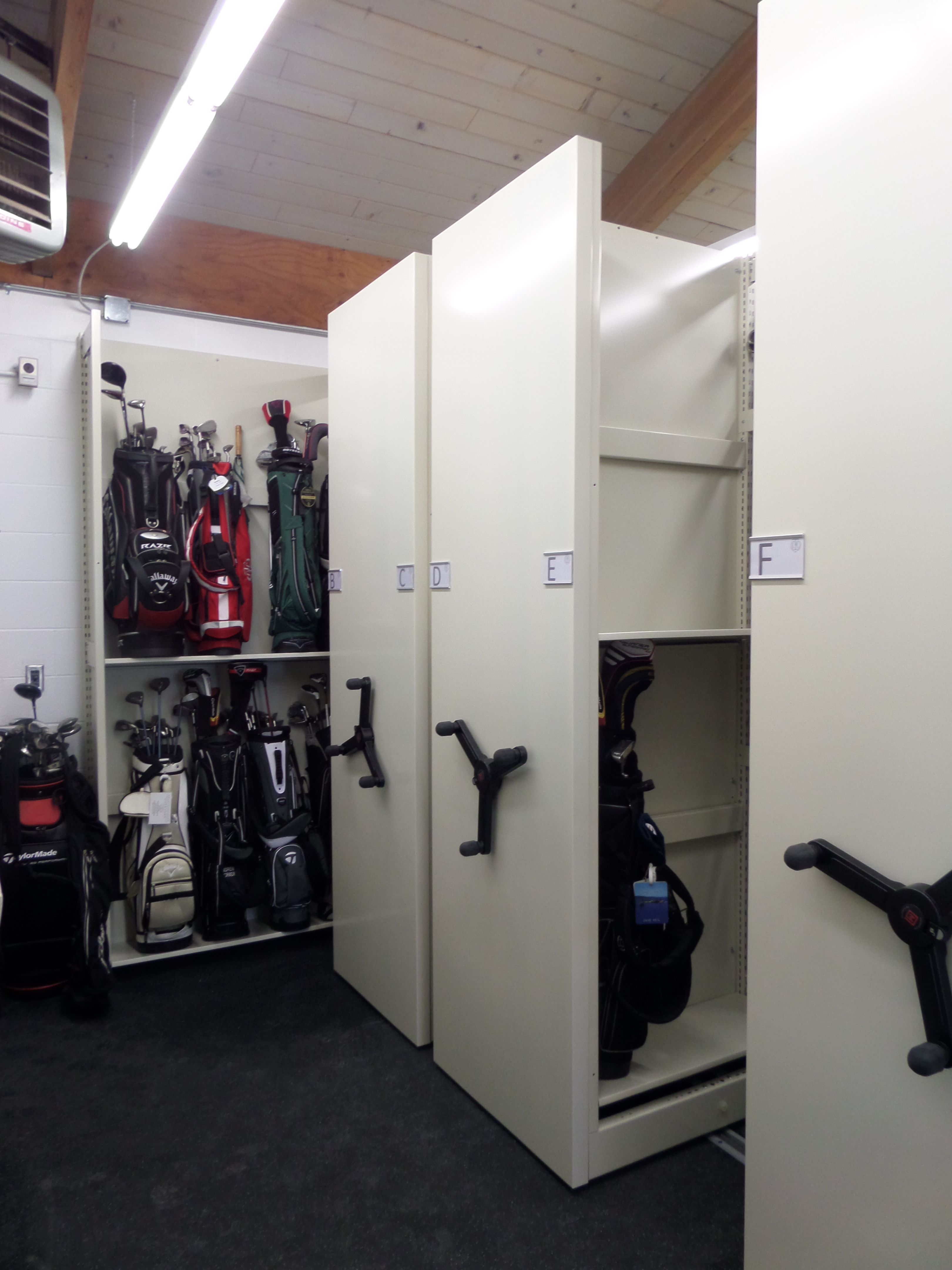 New Golf Club Storage System At Town Country St Paul