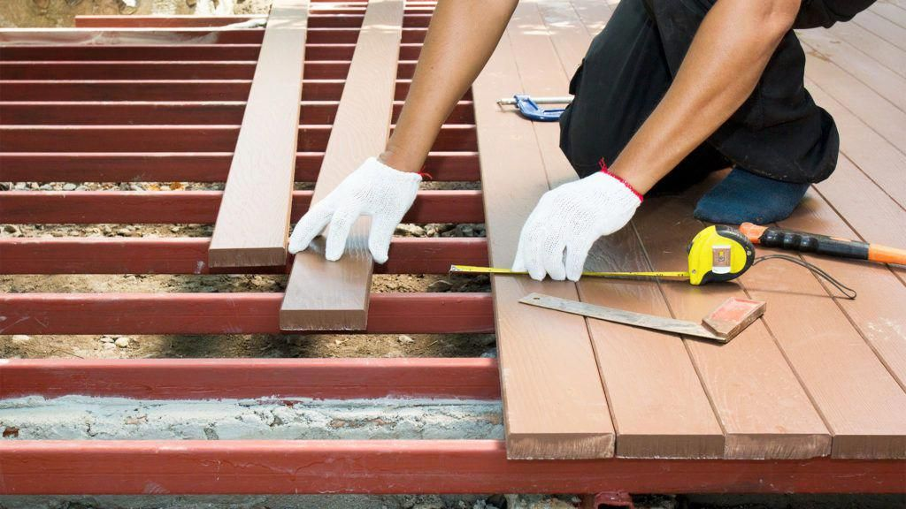 Different types of decking material abound, each with their own pros