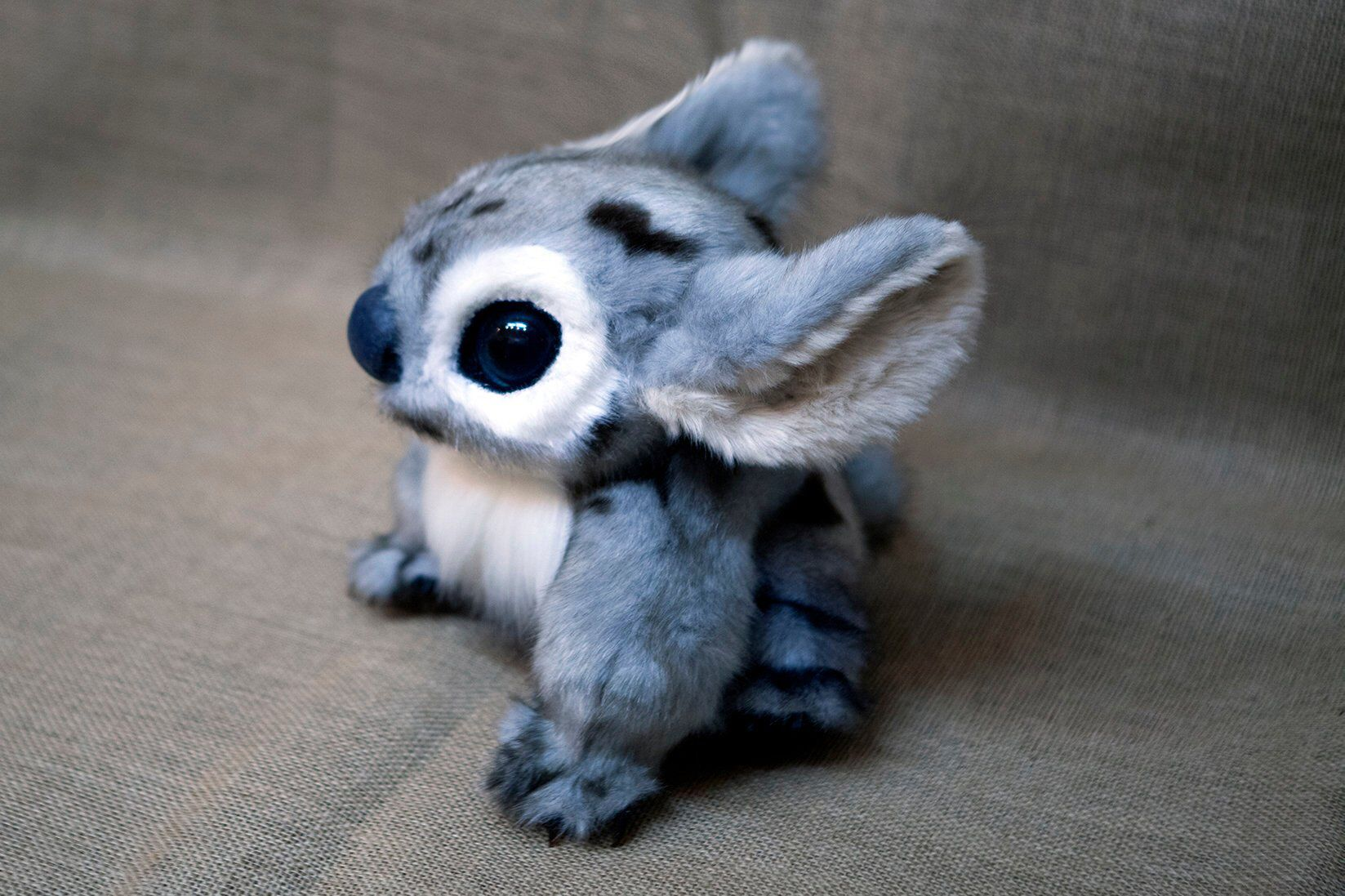 Handmade Realistic Fantasy Beast Inspired By Stitch From Disney S Lilo And Stitch By Nafantano On Ets Cute Fantasy Creatures Fantasy Beasts Fantasy Creatures