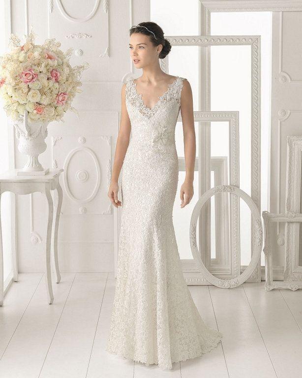 Vestido novia sin cola