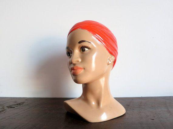 Mid Century Female Bust by EastonandBelt on Etsy, $67.00