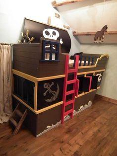 Pirate Ship Bunk Bed Www Facebook Com Dreamcraftfurniture Kid