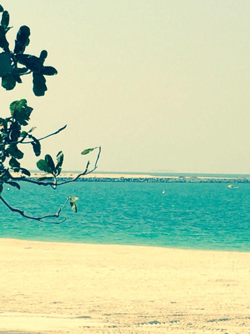 beach @ Jumeirah Park, Dubai, UAE | Through the lens of my mobile