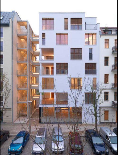 Apartments in Berlin.
