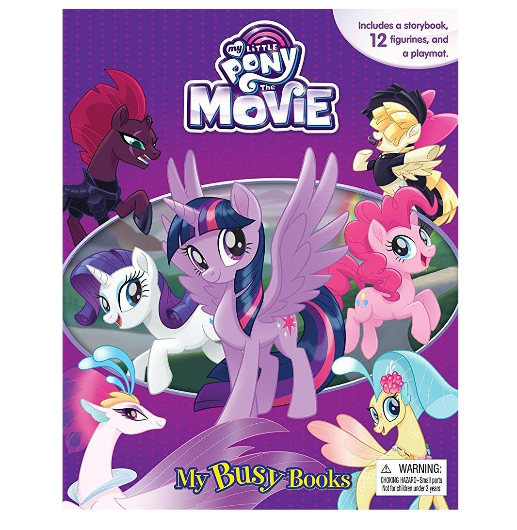 My Little Pony The Movie Cake Toppers Figures