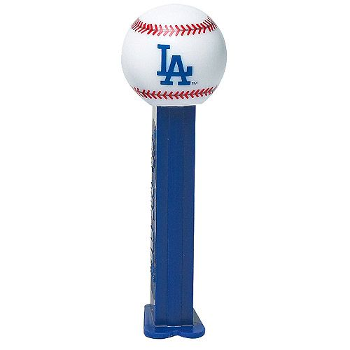 Los Angeles Dodgers Pez Candy Dispenser (12 Packs)  9497d25be3c0