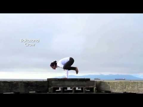 zain saraswati jamal practices crow pose or bakasana