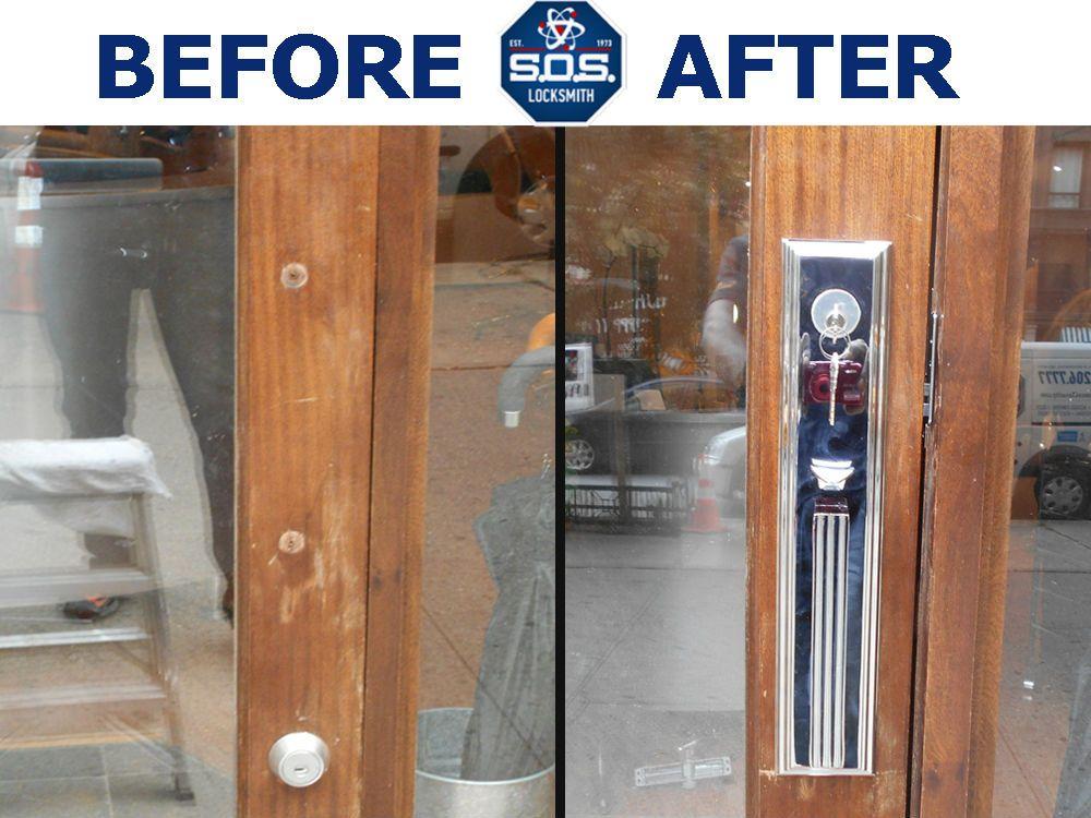 NYC Apartment Door Lock Installation done by SOS Locksmith