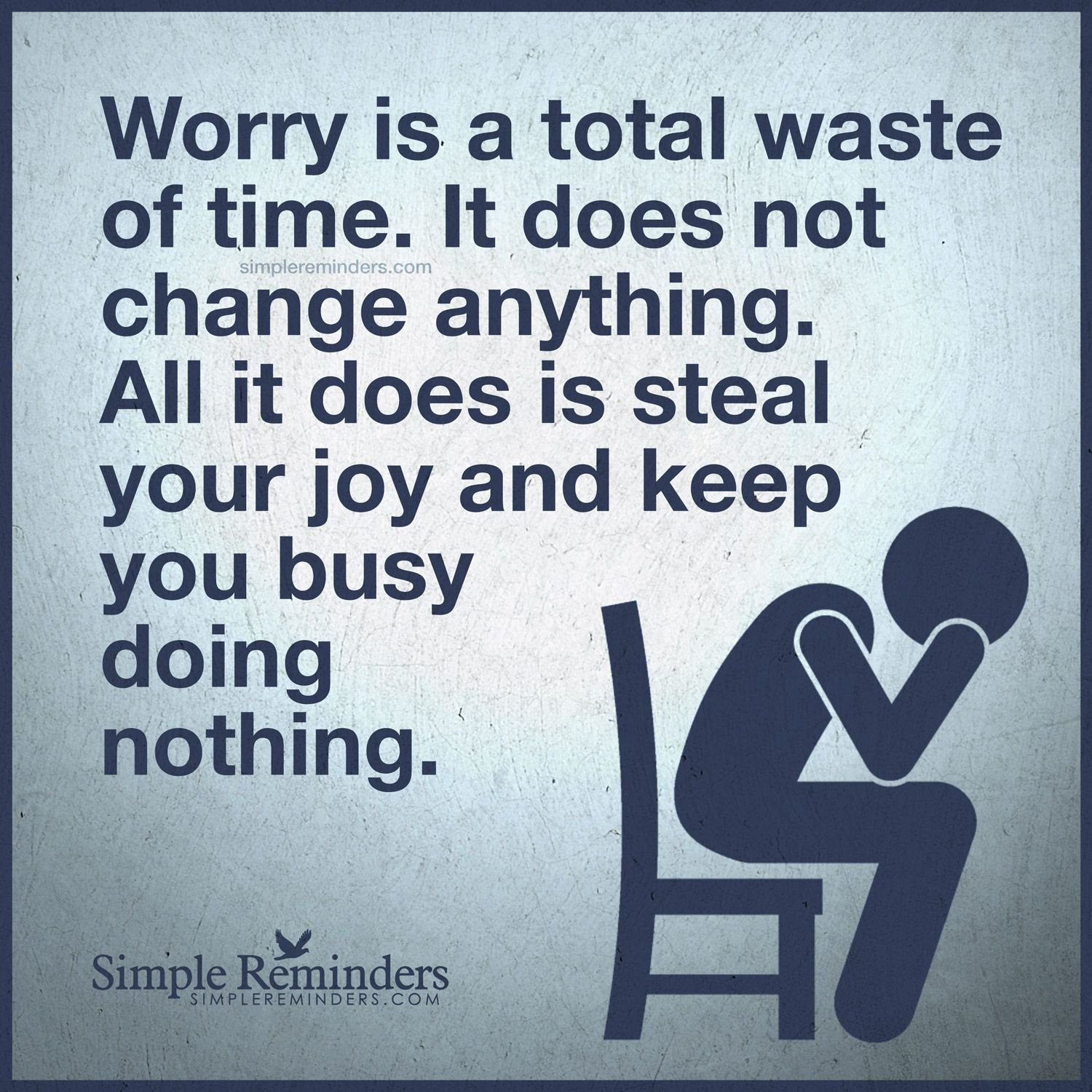 Image result for waste of time to worry