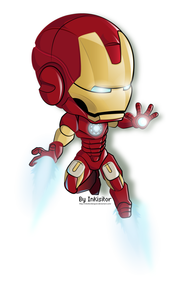 Cartoon Iron Man Drawing Cute | www.imgkid.com - The Image ...