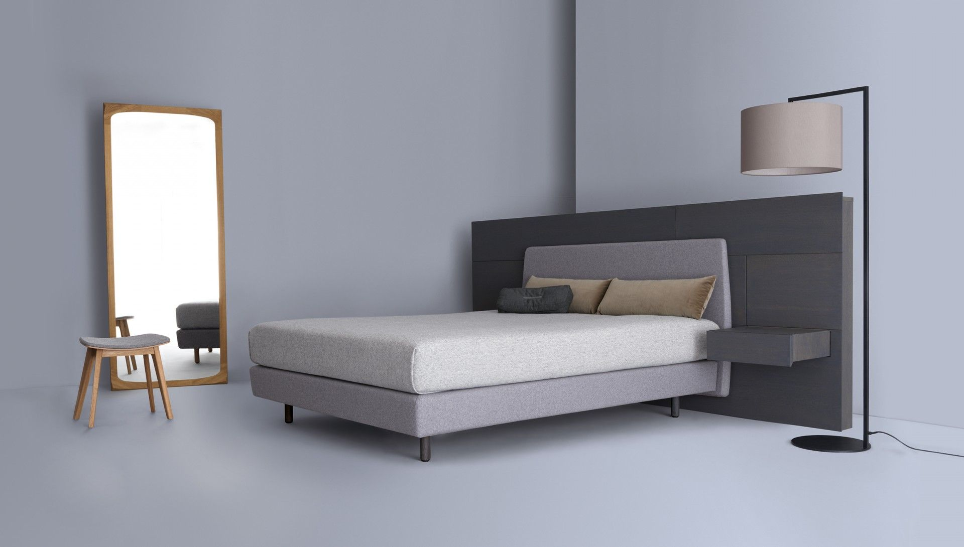 modern bedroom handmade in germany by zeitraum, available in la at, Schlafzimmer entwurf