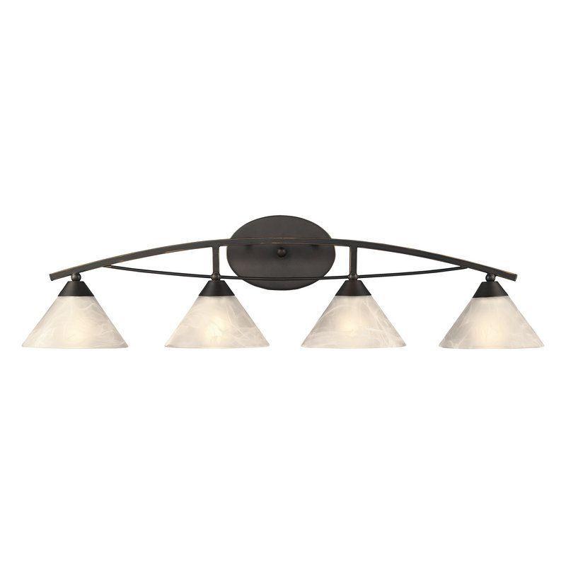 Elk lighting 17643 4 4 light bathroom vanity light oil rubbed bronze indoor lighting bathroom