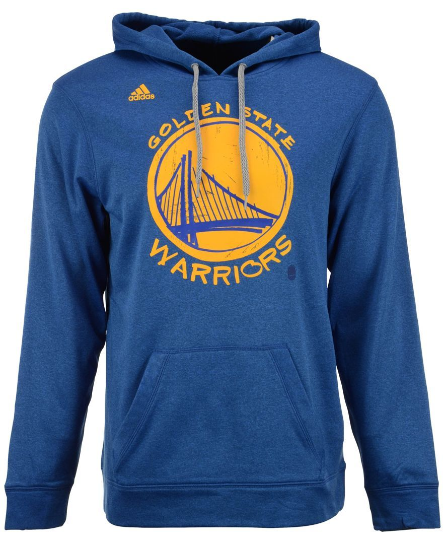 adidas Men's Golden State Warriors Quick Draw Hoodie