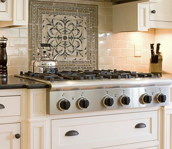 Kitchen Backsplash Behind Range: Would Like To Have Optional Panels To Switch Out The