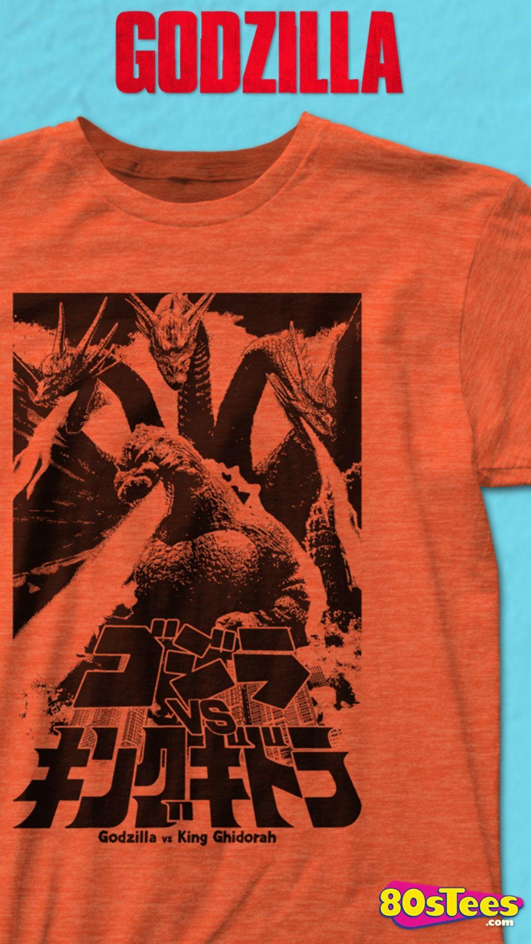 Godzilla Vs King Ghidorah T Shirt Godzilla Mens T Shirt Godzilla Vs King Ghidorah Godzilla Vs T Shirt