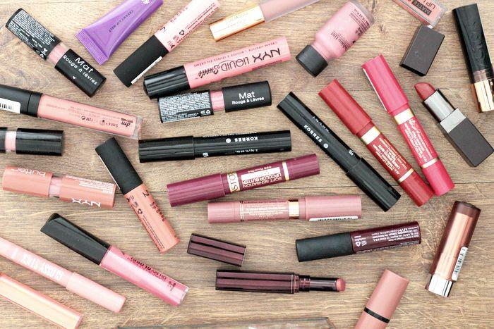 Bild von Lippenstiftsammlung Blogger