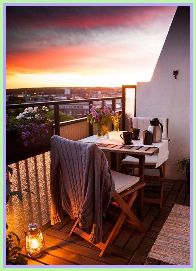94 reference of Balcony Ideas apartment cozy#apartment # ...