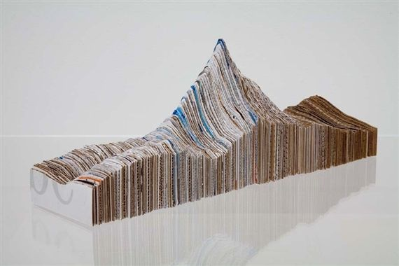 Maya Lin Small Recycled Landscape 2007 Land Art She Is An