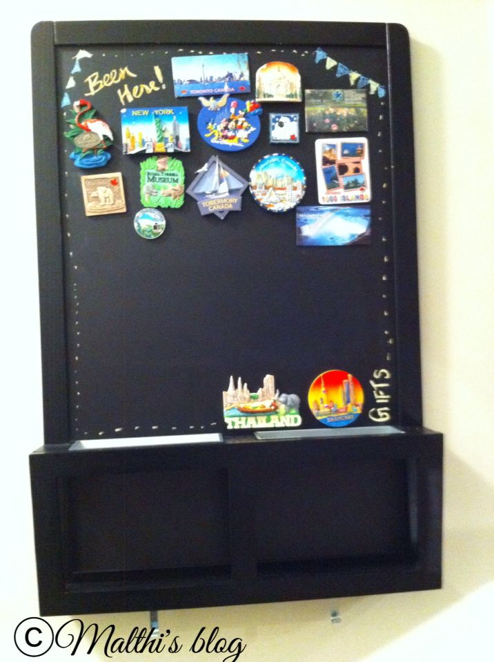 Magnetic Display Board Magnetic Chalk Board Travel