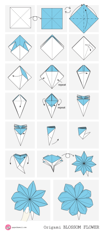 Origami Diagrams - Paper Kawaii