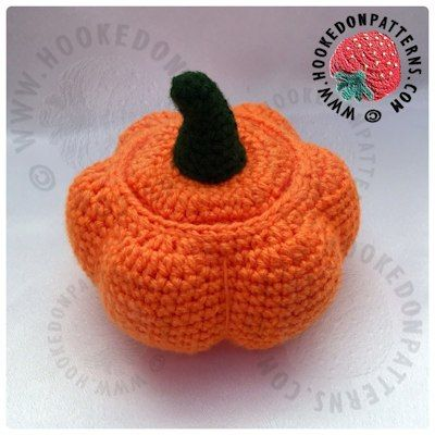 Free Crochet Pumpkin Pots Pattern | crossstitch | Pinterest ...