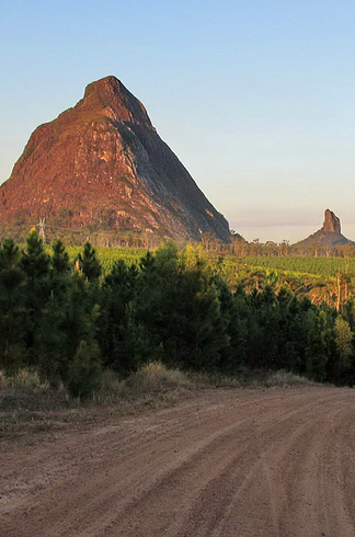 Glasshouse Mountains - Queensland, Australia ~