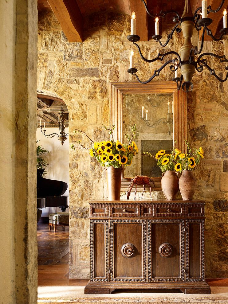 Gorgeous Faux Coral Stone convention Other Metro Mediterranean Entry ...
