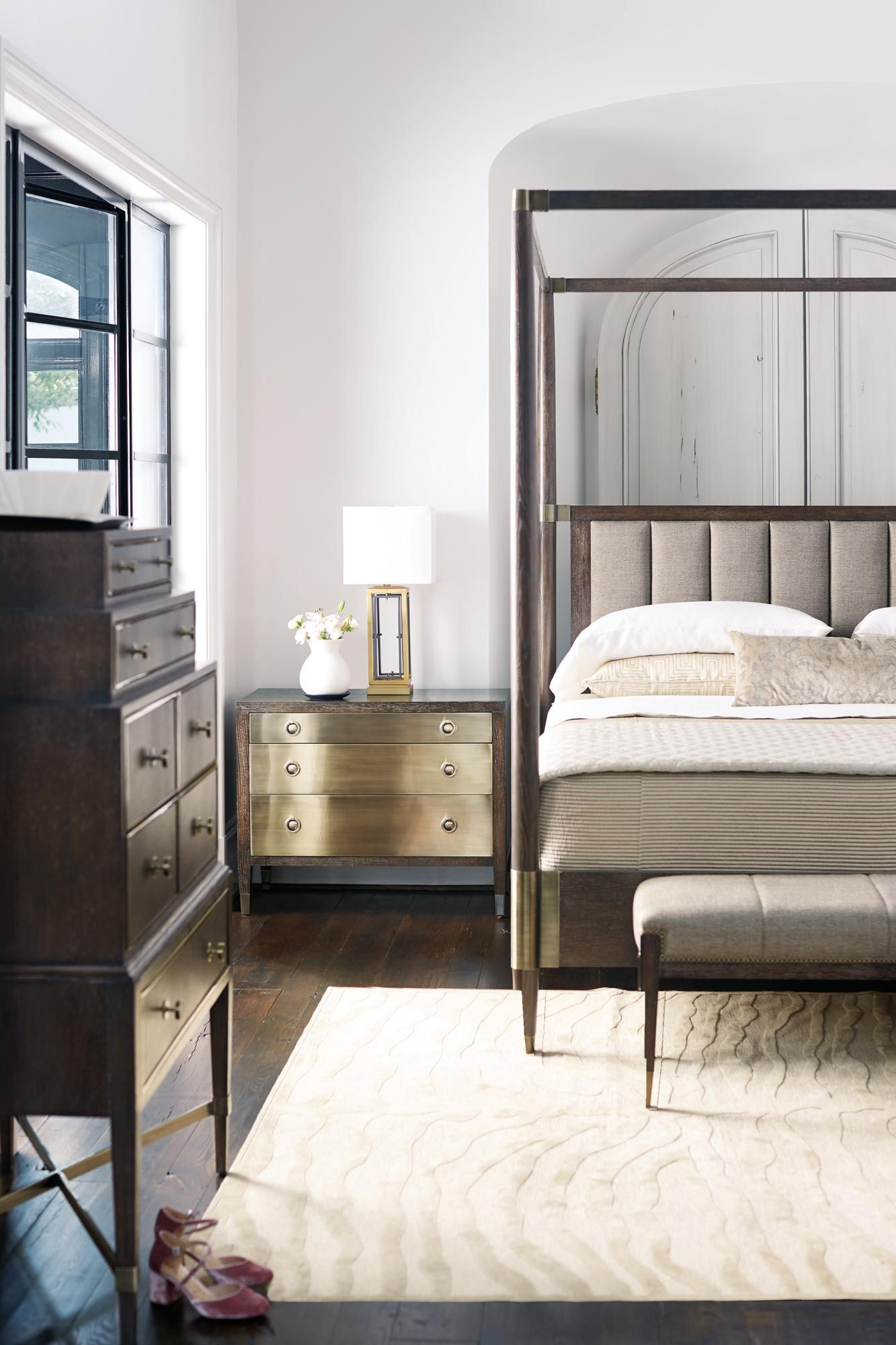 Find Bernhardt's sophisticated style for your bedroom at