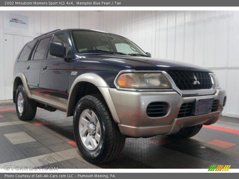 2002 Mitsubishi Montero Sport XLS 4x4 in Memphis Blue