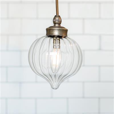 Mia Bathroom Pendant Light in Antiqued Brass   Lighting   Pinterest ...