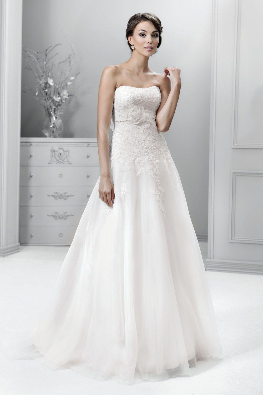 Brautkleid aus der Agnes by Mode de Pol Kollektion 2015 :: bridal ...