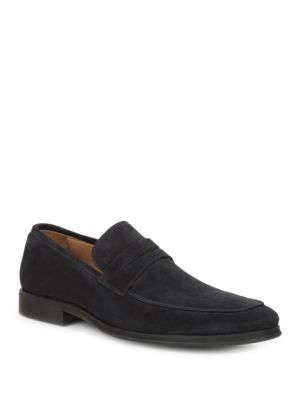 2253e61b291 BRUNO MAGLI Ragusa Suede Penny Loafers.  brunomagli  shoes