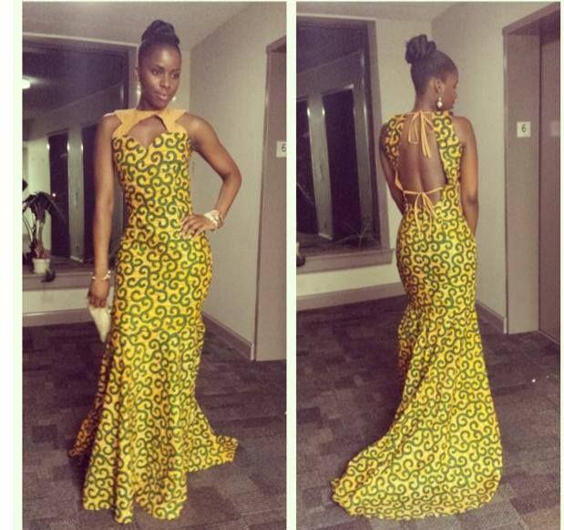Cheap African Print Dress