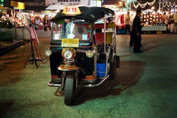Simon Tong Photography Taxi Thailand Travel Chiang Mai