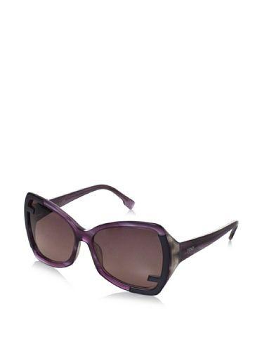 f0fec4076b33 Fendi Women s 5176 Sunglasses (Striped Purple)